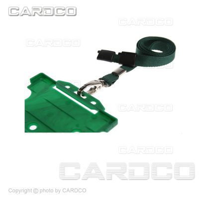 بند آویز کارت PVC -سبز