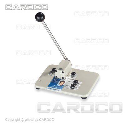 دستگاه پانچ کارت پرسنلی PVC