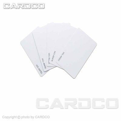 کارت ro سفید